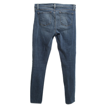 J Brand Stonewashed jeans in blue
