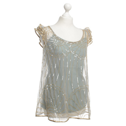 Twin-Set Simona Barbieri top with sequins