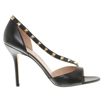 Valentino Leather peep-toes