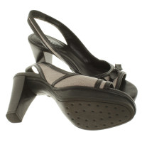 Tod's Slingbacks with bow
