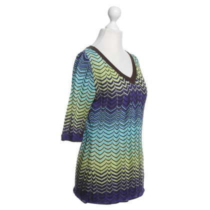 Missoni top with knitted pattern