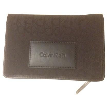 Calvin Klein Portemonnaie mit Monogramm-Muster