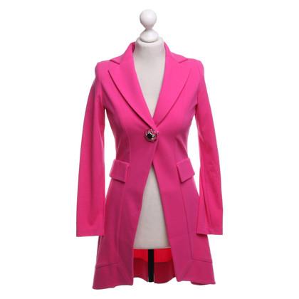 Piu & Piu Coat in neon pink