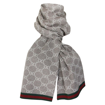 Gucci Knit scarf in beige