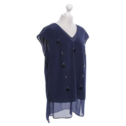 Laurèl Blouse in blue