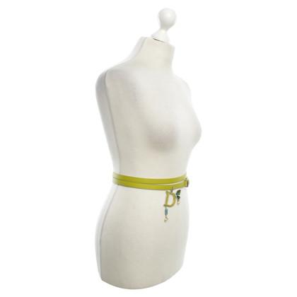 Christian Dior Cintura in verde