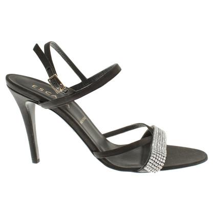 Escada Sandales en noir