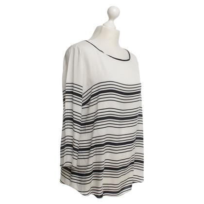 Windsor Zijden blouse met strepen
