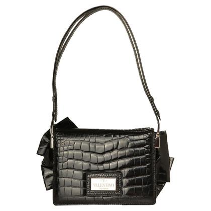 Valentino Shoulder bag made of alligator leather