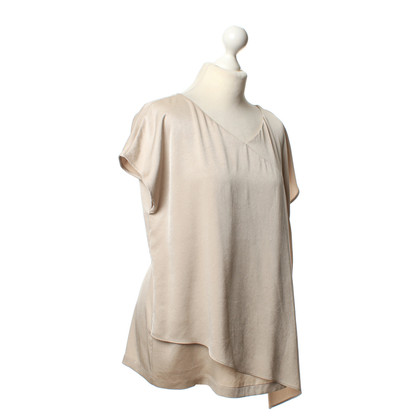 Laurèl Shirt in shimmering beige