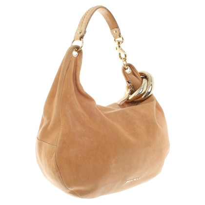 Jimmy Choo Hobo Bag glad leer