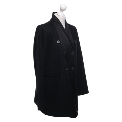 MM6 by Maison Margiela Coat in black