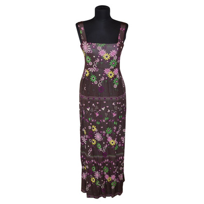 Piu & Piu Maxi dress with pattern
