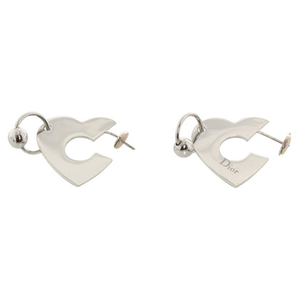 Christian Dior Earrings in silver