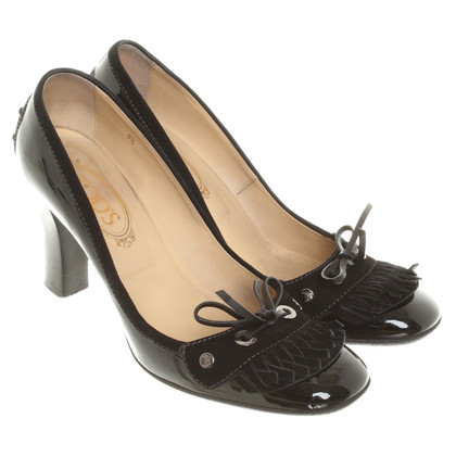 Tod's pumps in vernice nero