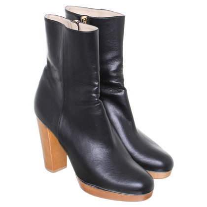 Stella McCartney Ankle boot with wooden heel