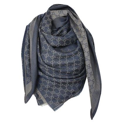 Gucci Guccissima doek in blauw / bruin