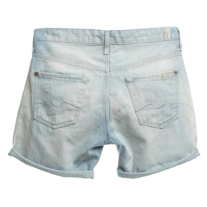 7 For All Mankind Short Jeans Vernietigd