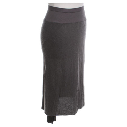 Rick Owens Knit skirt in dark gray