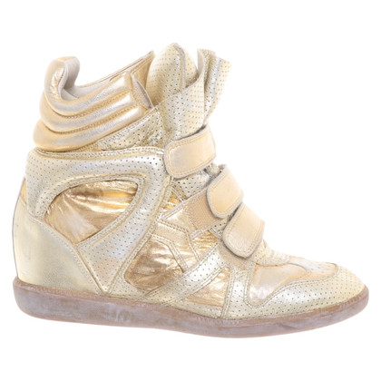 Isabel Marant Sneaker-Wedges aus Leder