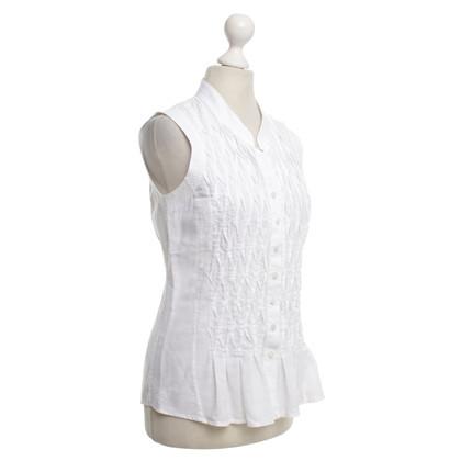 Van Laack Zomer blouse in het wit