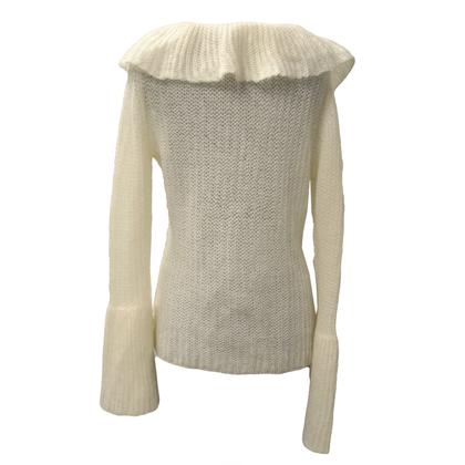 Escada Sweater with Ruffles