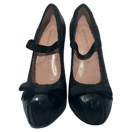 Marc by Marc Jacobs Mary Jane Pumps in Schwarz