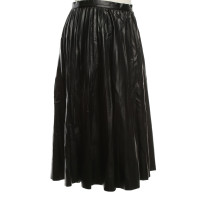 Whistles Pleated skirt in black