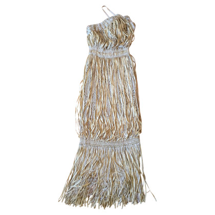 Chanel Chanel frange abito T.34
