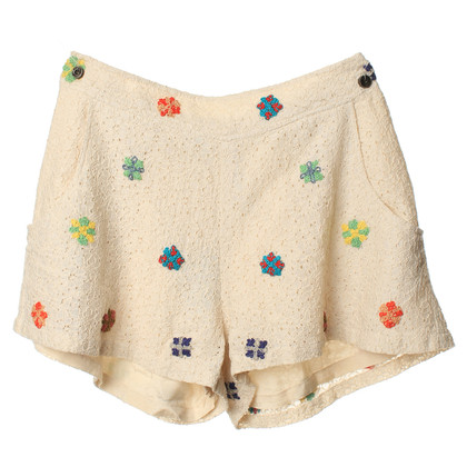 Hoss Intropia Shorts mit Blumen-Muster