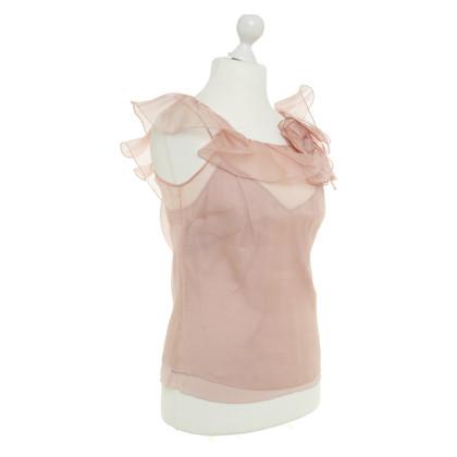 Blumarine top in pink