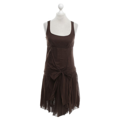 Céline Cotton dress in brown