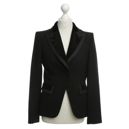 Burberry Blazer with velvet inserts