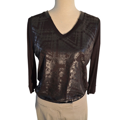 Karen Millen Metallic-Shirt