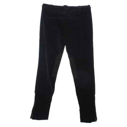 Gucci Velvet Jodhpurs in black