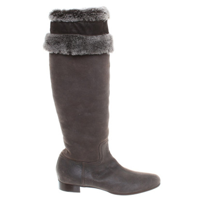 Miu Miu Boots with fur
