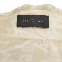 Richmond Transparent blouse in beige