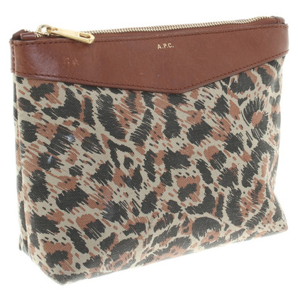 A.P.C. Pochette with pattern