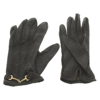 Roeckl Leather handbag in black