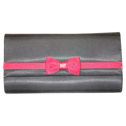 Balenciaga SATIN clutch con passante