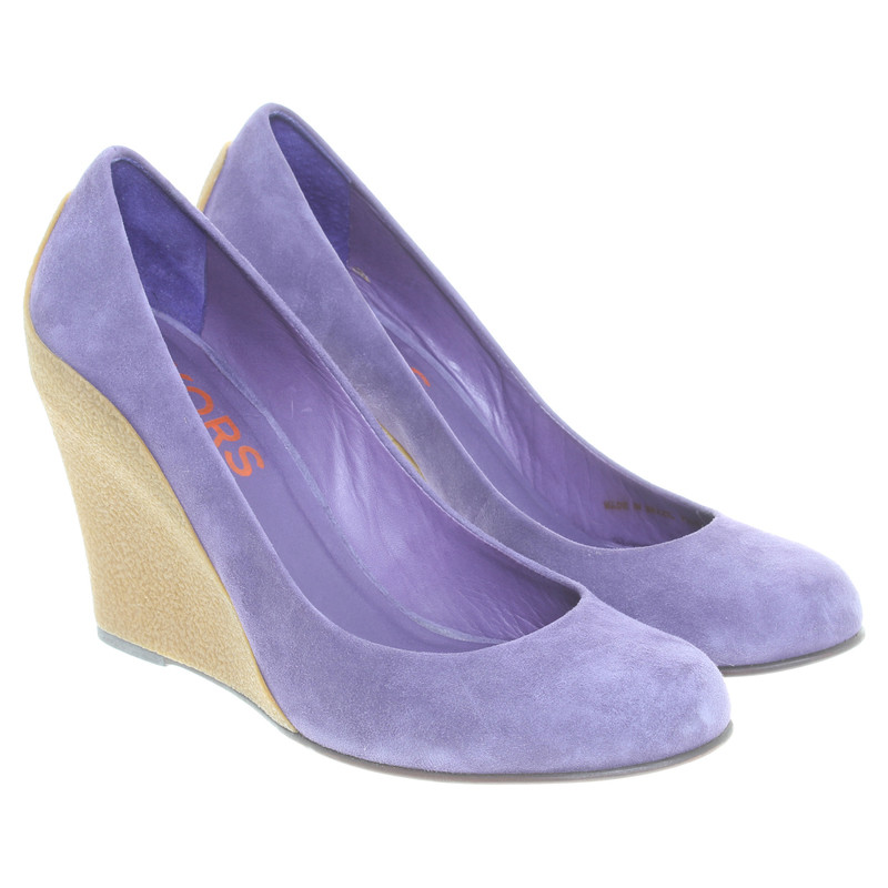 Michael Kors Wedges in violet