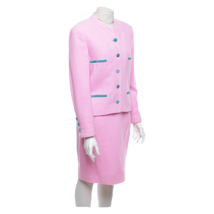 Chanel Costume con dettagli in velluto