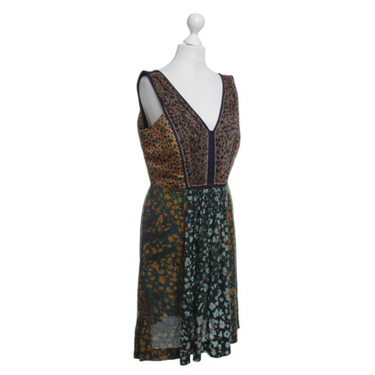 Cacharel Dress with colorful pattern