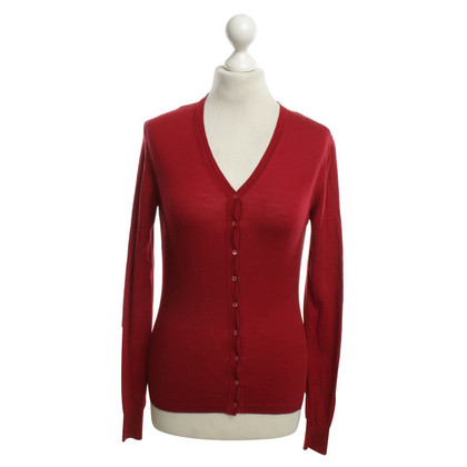 Alaïa Strickjacke in Rot