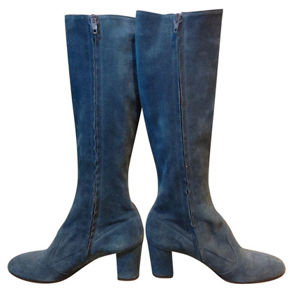L'autre Chose Boots in teal