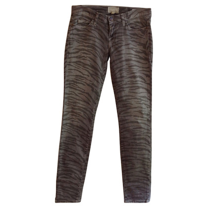 Current Elliott Jeans met animal print