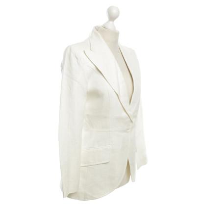 Dolce & Gabbana Blazer in crema bianca