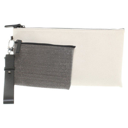 Brunello Cucinelli clutch doek