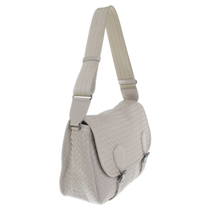 Bottega Veneta Messenger bag in beige