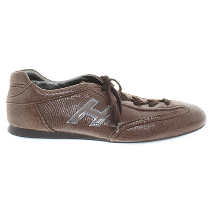 Hogan Sneakers in Brown